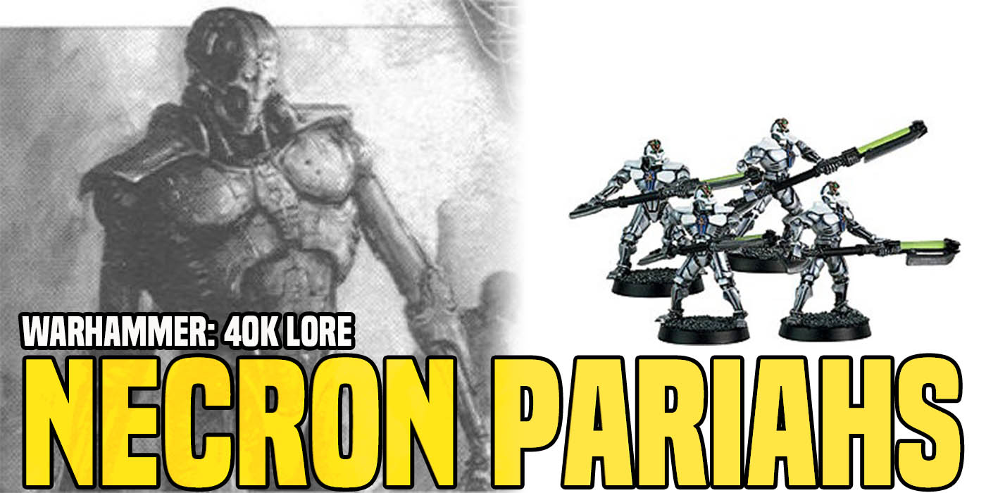 Warhammer 40K Lore: The Necron Pariah