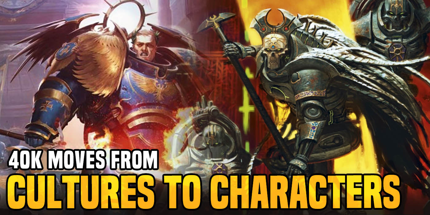 Warhammer 40k  The Silent King Moves Game From Cultures To Characters