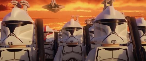 The Entire Skywalker Saga in Lego