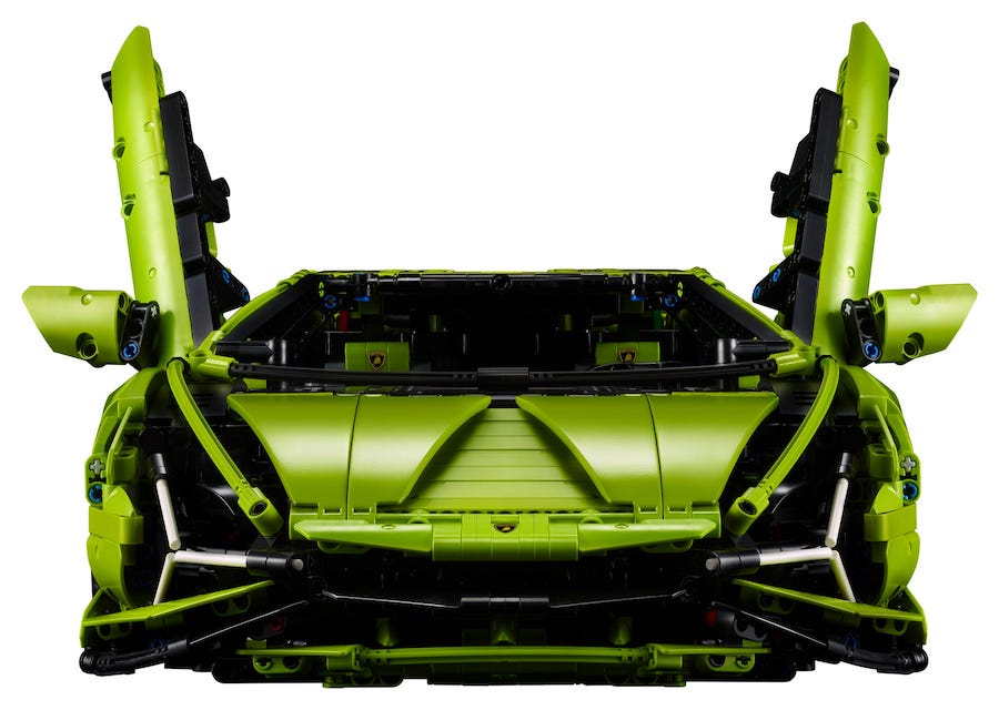 Finally, an Affordable Lego Lamborghini - Bell of Lost Souls