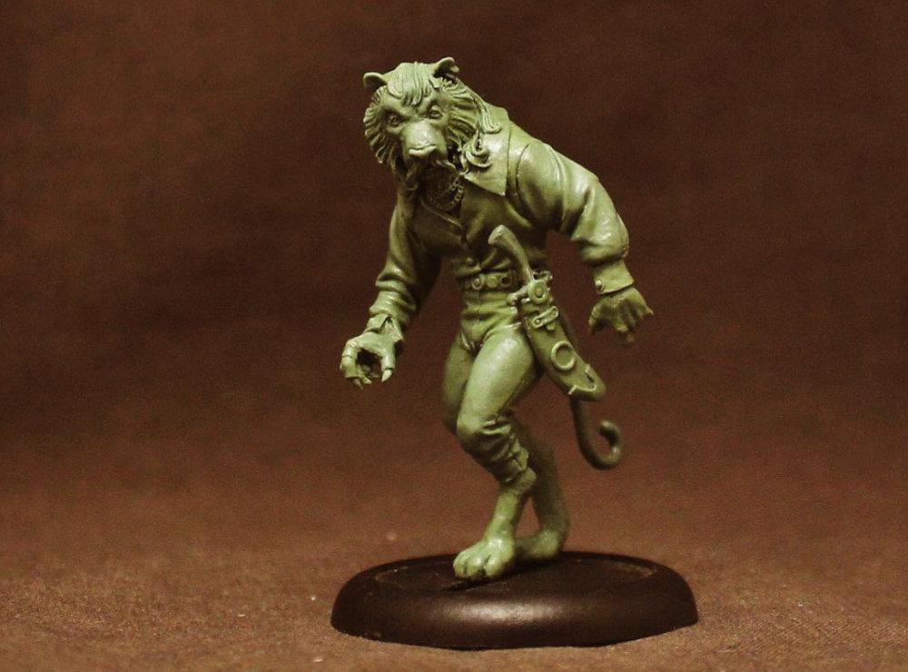 Tiger King Miniature as a Rakshasa
