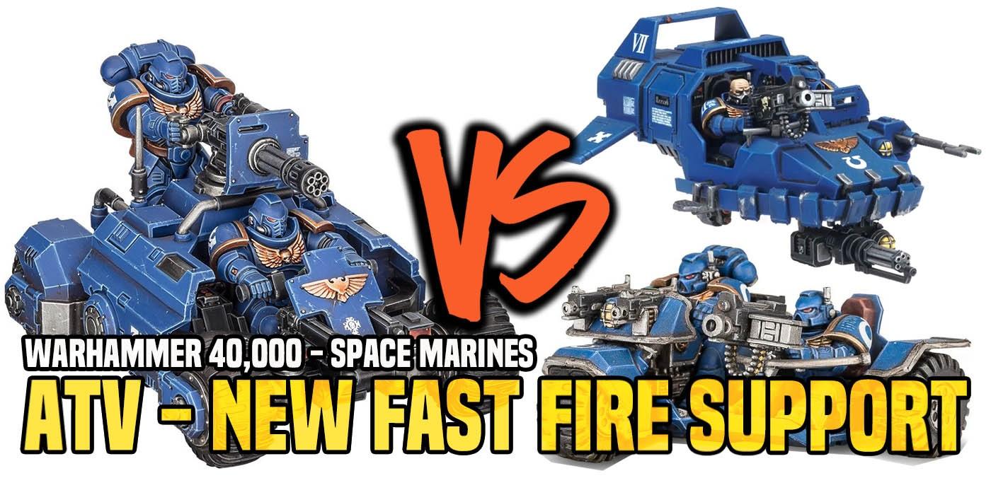 Warhammer 40k  Invader Atv - New Attack Bike Or Land Speeder
