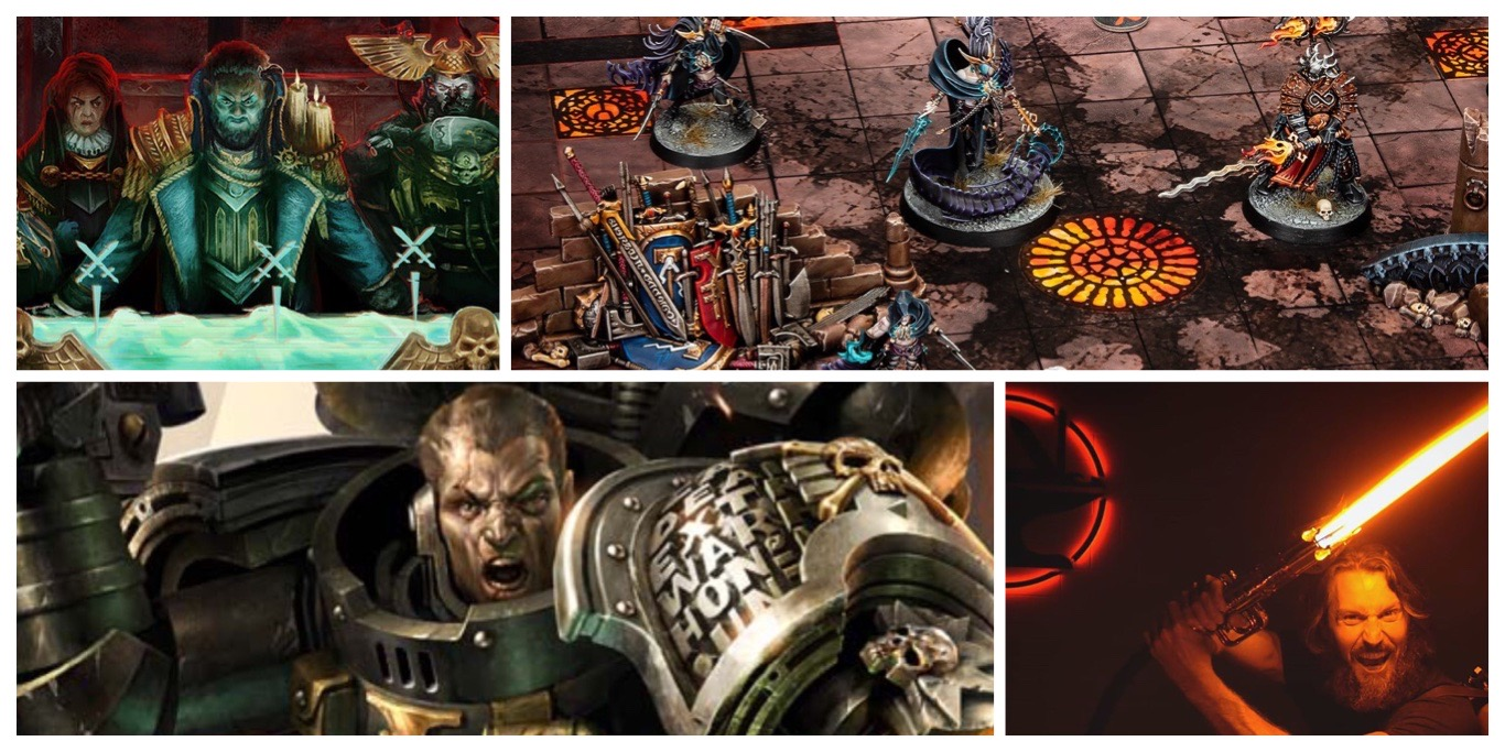 Next 40K Codexes, Necromunda, Warcry, D&D Virtual Weekends, and a Working Lightsaber - Bell of Lost Souls