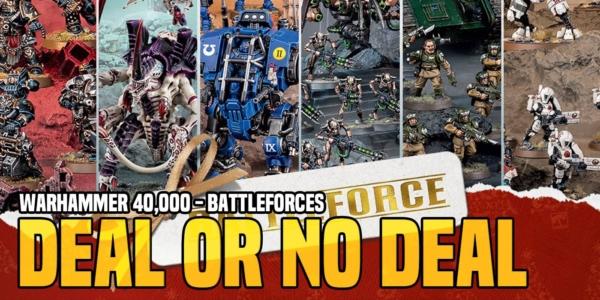 Warhammer 40K: Battleforces – Deal or No Deal 2020 Edition