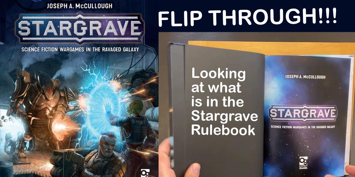Stargrave Rulebook Flip Through