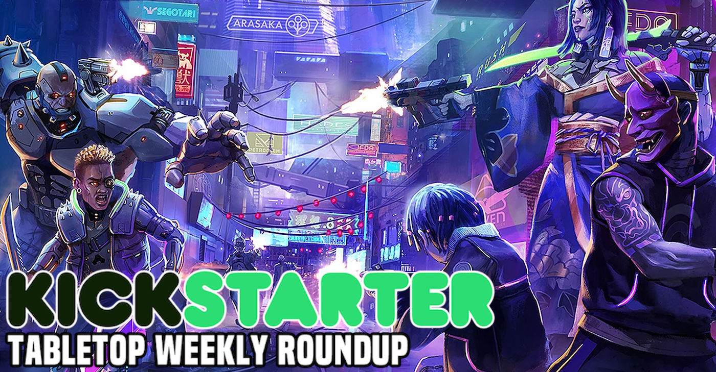 Kickstarter Round-Up: Cyberpunk Red, Mechanical Titans, and a Horror-Grunge RPG - Bell of Lost Souls