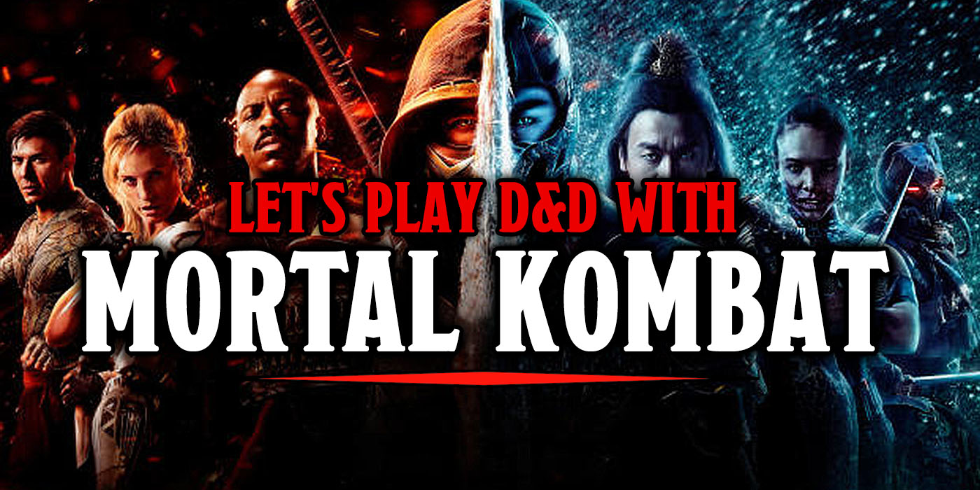 Let's Play D&D In Mortal Kombat: Sub-Zero Edition - Bell ...
