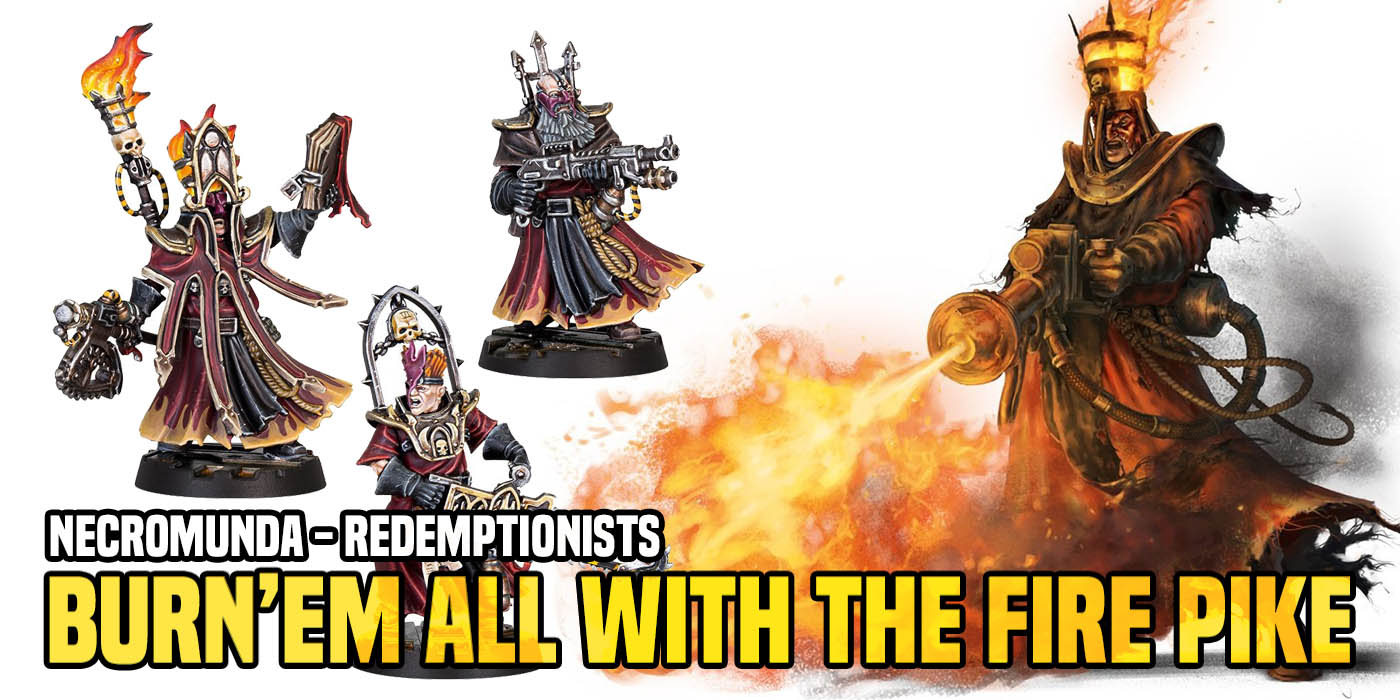 Necromunda: Redemptionists - Burn The Heretic And Everyone Else With The Fire Pike - Bell of Lost Souls