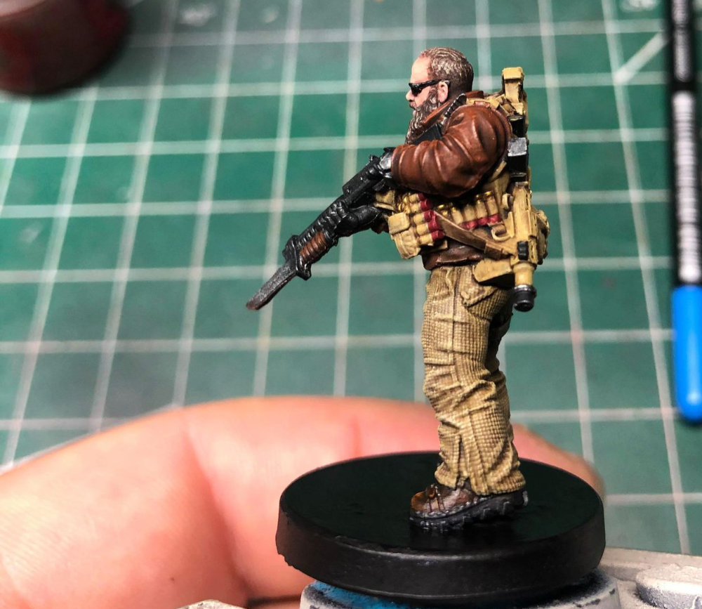 Painted by Drew Claessens of Forbes Hobbies. Originally posted by Must Contain Minis