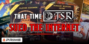 That Time TSR Sued The Internet Over Dungeons & Dragons – Prime