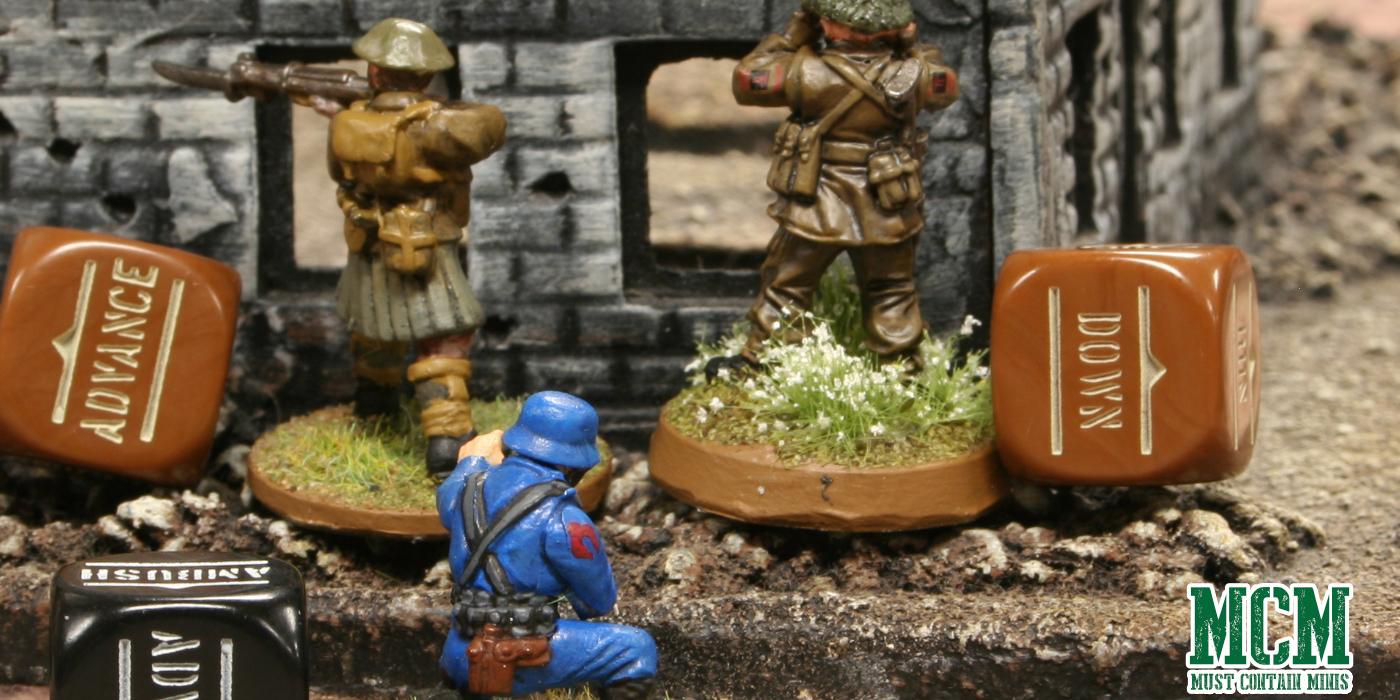 Bolt Action Battle Report - Cobra vs British Army