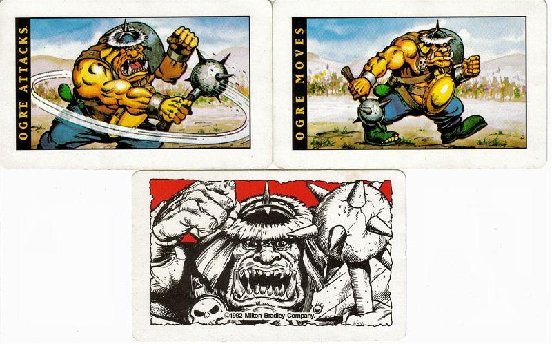 Battle Master Ogre Cards