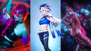 Cosplay: 'League of Legends' K/DA Slay in the Baddest Music Videos